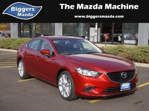 New 2017 Mazda6 Touring FWD 4dr Car